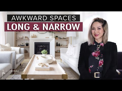 AWKWARD SPACE SOLUTIONS | The Long and Narrow Room | Julie Khuu