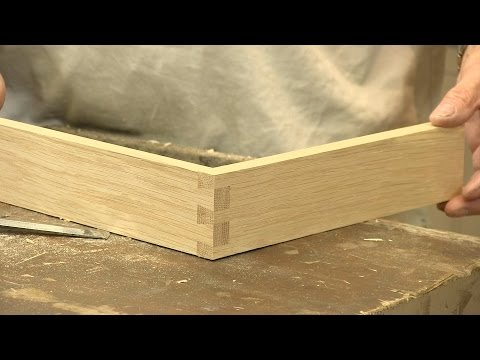How to make a Dovetail Joint - The Three Joints -   Paul Sellers