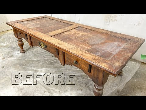 How to Refinish a Coffee Table for Beginners