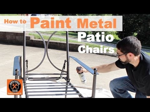 How to Paint Metal Patio Chairs (Step-by-Step!!)