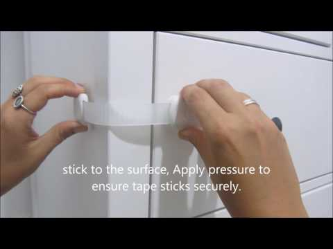 How to Install Child Safety drawer lock